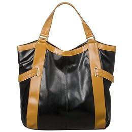 Merona® Tote Bag - Black/ Tan : Target