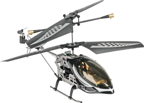 Bilder von Fun2Get REH46112-1 - RC Hubschrauber Mini Helikopter Falcon Metal RTF mit Gyro-Technologie, schwarz