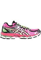 Asics Gel-Nimbus 16 Women's Shoes Hot Pink/Green/Black t485n-3570
