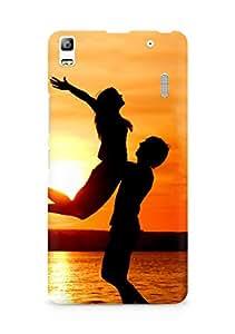 Amez designer printed 3d premium high quality back case cover for Lenovo K3 Note (Romantic Couple)