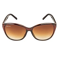 Chevera Voguish Wayfarer Brown Sunglasses