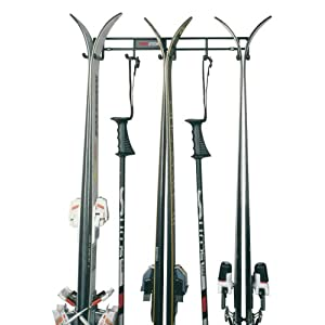 Racor Pro PS-3R Three Pair Ski and Pole Rack
