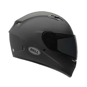 Bell Solid Adult Qualifier Street Bike Racing Motorcycle Helmet - Matte Black - Large by Bell