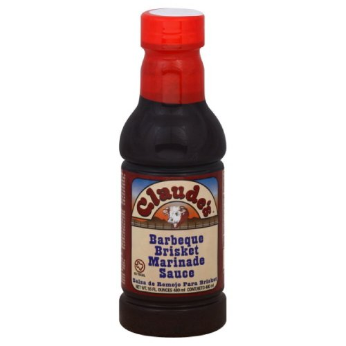 Claude'S BBQ Brisket Marinade Sauce, 16-Ounce