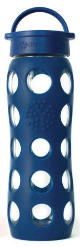 Lifefactory 22-Ounce Beverage Bottle, Midnight Blue