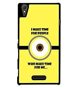 PRINTVISA Quotes Sarcastic Case Cover for Sony Xperia T3