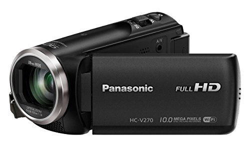 Panasonic HC-V270EB-K 50x Optical Zoom Full HD Camcorder - Manufacturer Refurbished