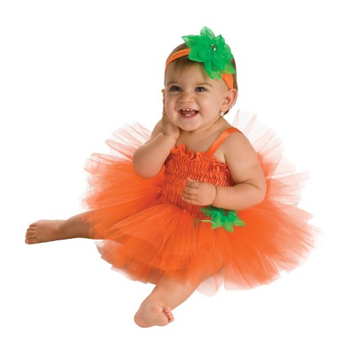 Image - Rubie's Costume Newborn Pumpkin Tutu Dress