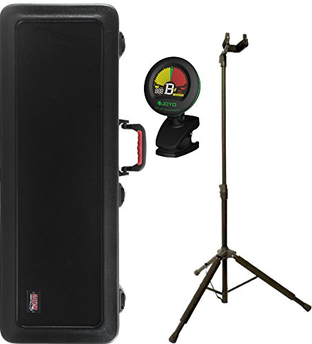 Gator Gpe-Electric-Tsa Polyethylene Electric Fit-All Case With Tsa Latch System W/ Stand And Tuner front-555546