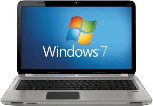 HP Pavilion dv7-6103ea 17.3 inch Laptop (AMD A6-3410MX 1.6GHz, RAM 6GB, HDD 2x750GB, Windows 7 Home Premium) - Steel Grey