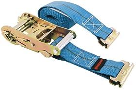 "Erickson 59139 Blue 2"" x 16' Ratcheting E-Track Logistic Strap"