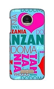 ZAPCASE Printed Back Cover for Motorola Moto Z Play