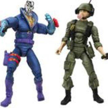 Gi Joe 25th Anniversary Comic 2 Pack Figure Destro and Breaker - 2 per Pack