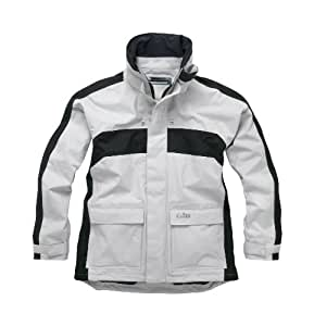 Gill Men's Coast Jacket - Coastal Inshore Sailing Jacket Silver Grey/Graphite X-Small