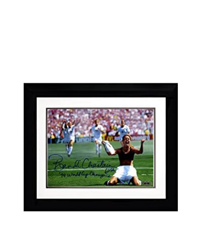 Steiner Sports Memorabilia Framed Brandi Chastain Signed PK Celebration Photo with '99 World Cup Ch...