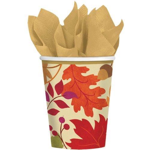 Festive Fall 9oz Cups