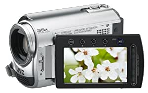 JVC GZ-MG365 Slim HDD/micro SD Hybrid Camcorder With 60GB Hard Disc Drive With Konica Minolta Lens (35x Optical Zoom)