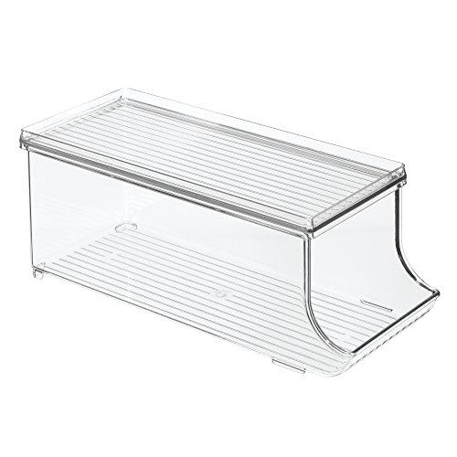 InterDesign Soda Can Holder for Refrigerator, Kitchen Cabinet, Pantry - Clear (Clear Soda Can compare prices)