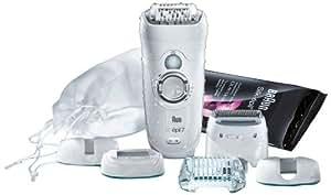 Braun  Epilateur électrique Silk-epil 7 7681 Wet & Dry  Jambes. corps et visage  Utilisable sous l'eau