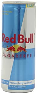 Red Bull Energy Drink, Sugarfree, 8.4 Ounce Can, Pack of 48
