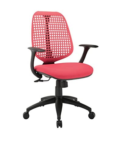 Modway Reverb Office Chair, Red