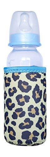 Kidzikoo - #1 Neoprene Baby Bottle/Sippy Cup Insulator Cooler Coozie - Cheetah