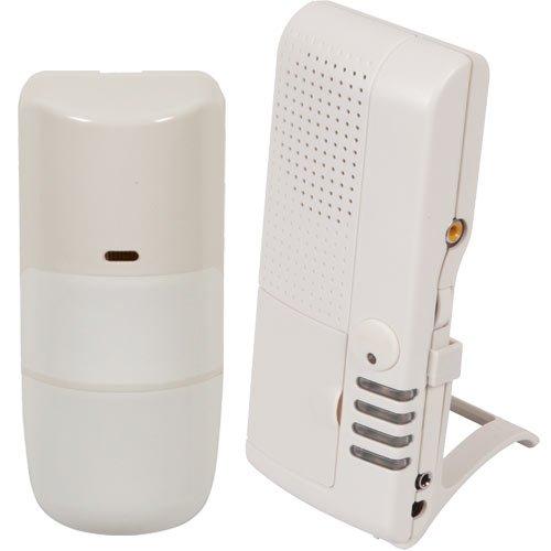 Sti Wireless Outdoor Motion Detector Alert Kit With Voice Receiver (Sti-V34750)