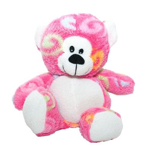 Pink Swirl Bear