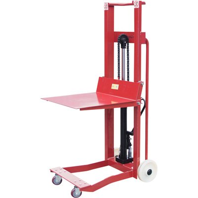 Northern Industrial 4-Wheel Platform Lift Truck - 750-Lb. Capacity