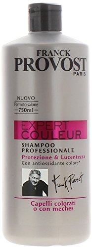 Franck Provost Expert Couleur Shampoo Professionale per Capelli Colorati o con Meches 750 ml