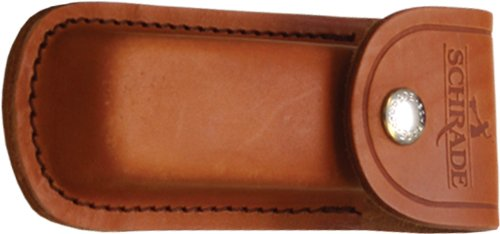 Schrade LS1 Leather Sheath Brown Large