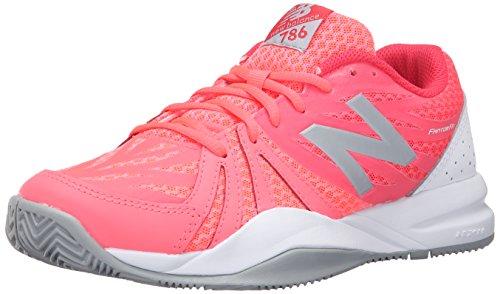 New Balance Women's 786v2 Tennis Shoe, Guava/White, 10 B US