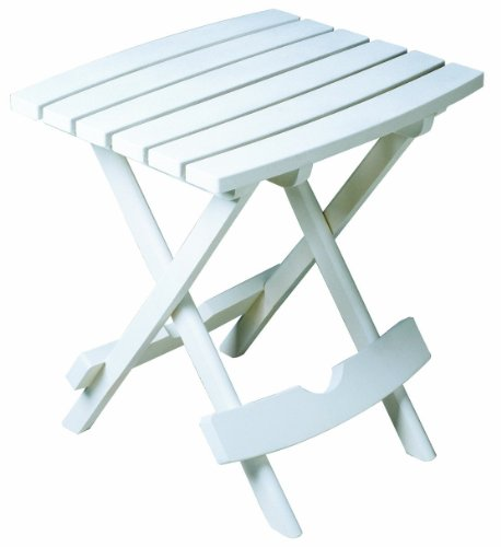 Quik-Fold Side Table, White