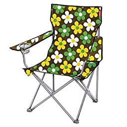 Captain Stagg (CAPTAIN STAG) Happy Flower Lounge Chair Brown M-3825
