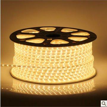 High Brightness 5M/460Leds White/Warm White/Blue/Yellow Smd3530 220 V Led Strip Light + Free Plug And Core