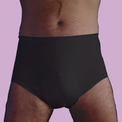 Incontinence Underwear Mens Cotton Protective Pants With Concealed Waterproof Liner