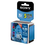 Sony MiniDisc Color Collection 5-pack