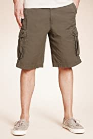 North Coast Pure Cotton Cargo Shorts [T17-2229N-S]