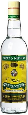 WRAY & NEPHEW OP Overproof White Rum From Jamaica 70cl Bottle