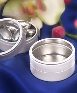 White Mint Tin