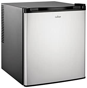 Culinair Af100s 1.7-Cubic Foot Compact Refrigerator, Silver and Black by Culinair