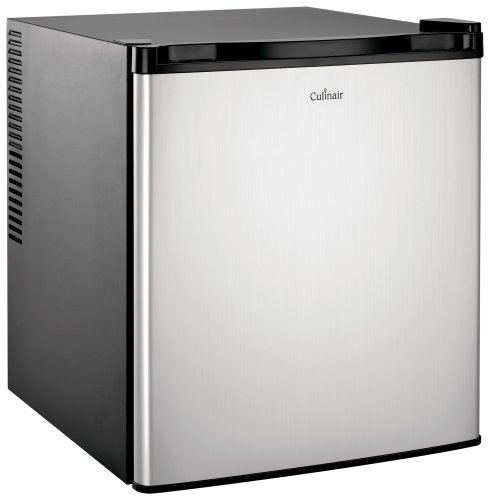Culinair Af100s 1.7-Cubic Foot Compact Refrigerator, Silver and Black (Refrigerator Mini Bar compare prices)