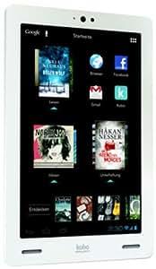 """Kobo K107-KBO-16W Tablette tactile 7"""" (17,78 cm) IMAPX OMAP4470 1,5 GHz 16 Go Android Wifi Blanc"""