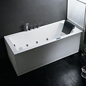 AM154R70 70 Platinum Whirlpool Freestanding Tub With Water