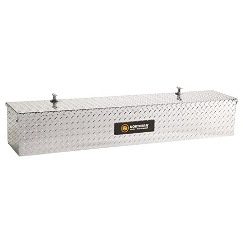Northern Tool + Equipment Diamond Plate Aluminum Flush-Mount Side-Bin Truck Box (Flushmount Toolbox compare prices)