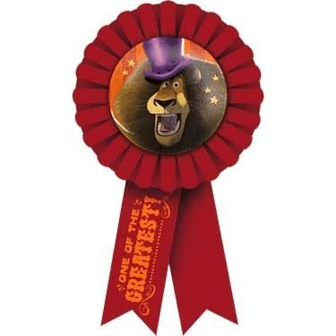 Madagascar '3' Guest Of Honor Ribbon (1ct)