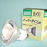 ウシオ JR12V50WLM/K/EZ-H ダイクロハロゲン 12V50W EZ10 Ф50 20°中角