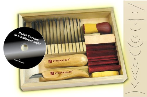 Black friday flexcut starter carving set with free relief
