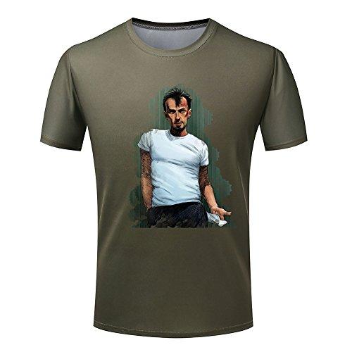 Prison Break Men's Painting Bagwell T-BAG t shirt Large
