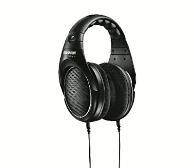 Shure SRH1440 Professional Open Back Headphones (Black) by Shure